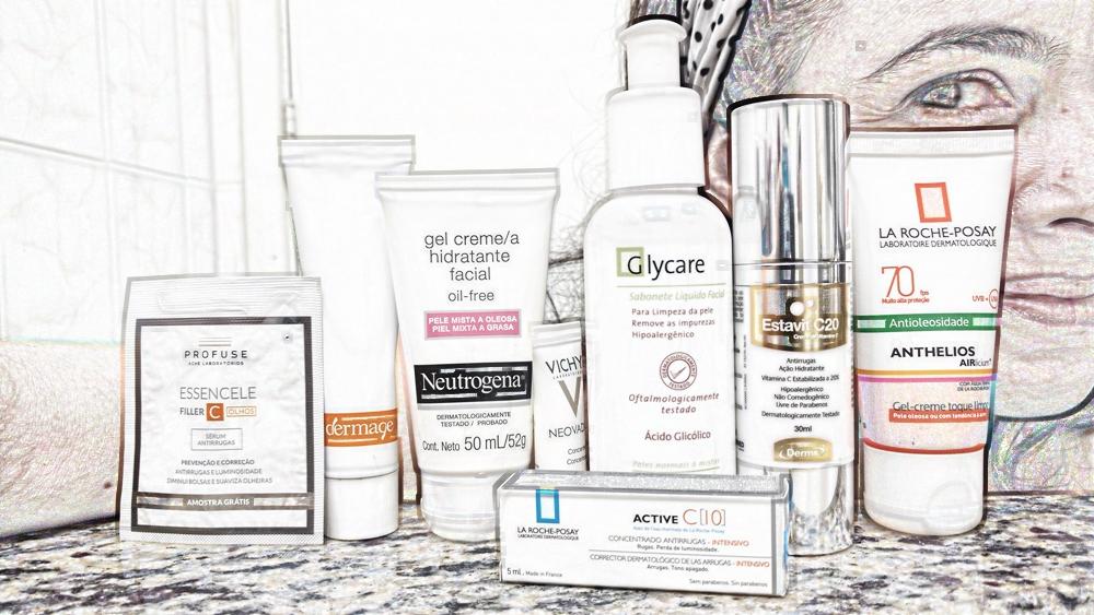 Rotina de cuidados diários para pele madura