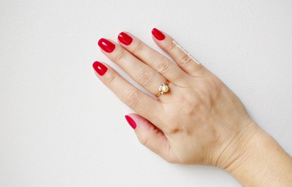 esmalte vermelho da beauty color felina metalico 3