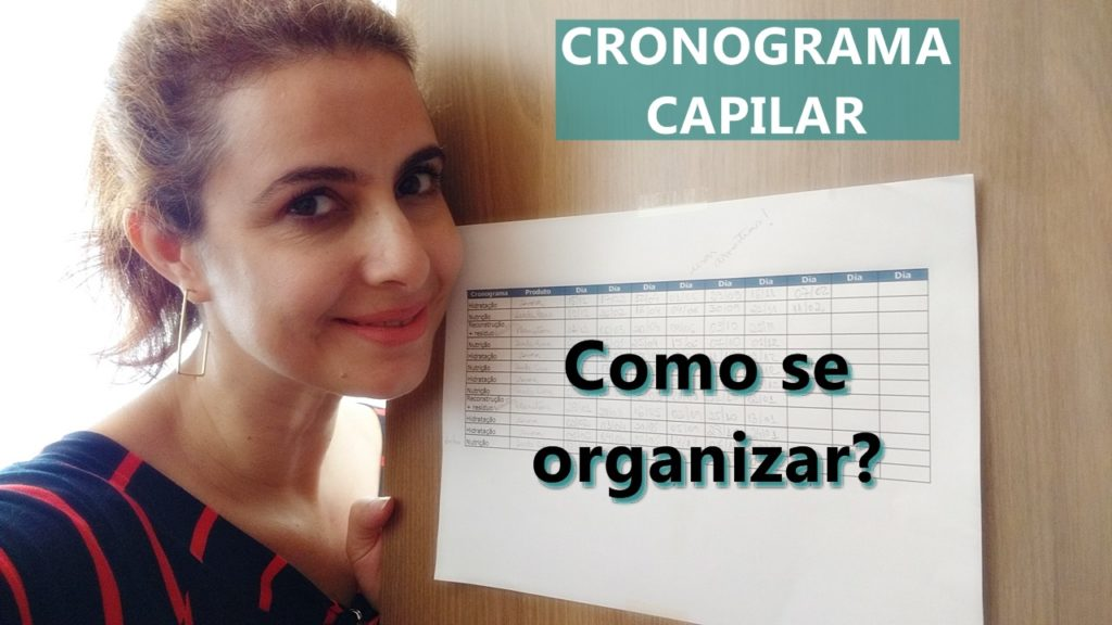 Cronograma capilar como se organizar?