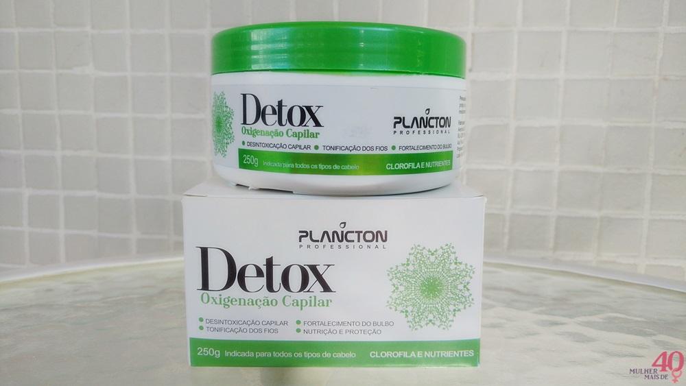 Detox Oxigenação Capilar Plancton Professional