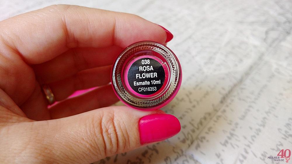 Esmalte Rosa Flower da ALFAPARF cor