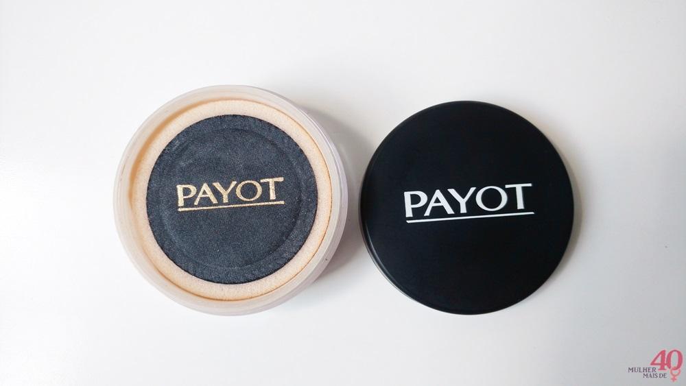 Pó translúcido mate Payot e sua apresentação