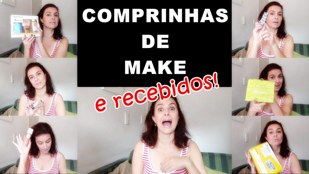Comprinhas de make e recebidos kiss new york