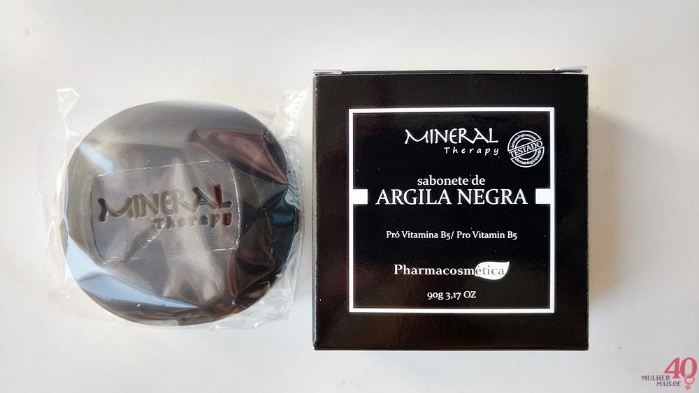 Sabonete de argila negra B5 Cosméticos embalagem