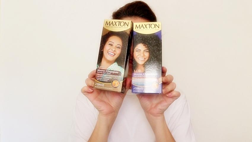 Pintando o cabelo em casa com Maxton Cacheadas