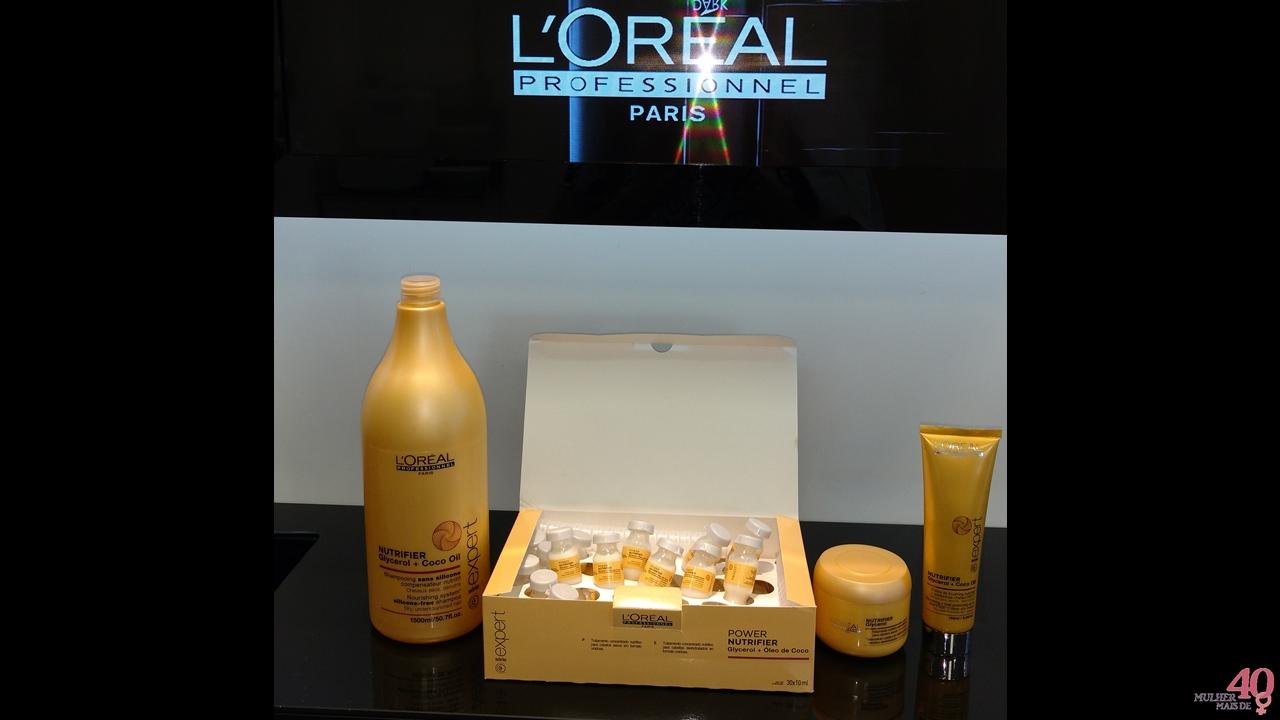 Conhecendo a Linha NUTRIFIER L'Oréal no Degradée - VEDA 03 - Mulher mais de 40