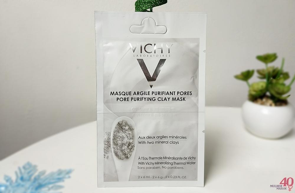 Máscara Mineral Vichy Argila Purificante sachê