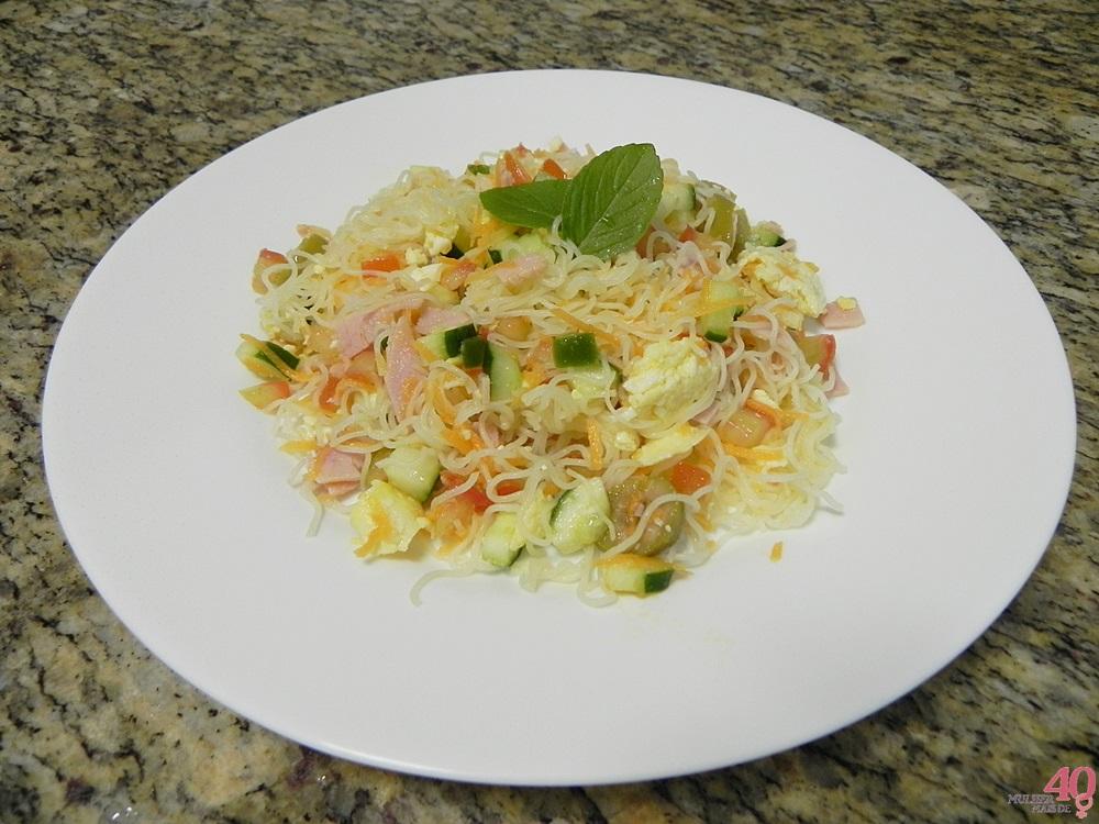 Salada de Bifum apresentação
