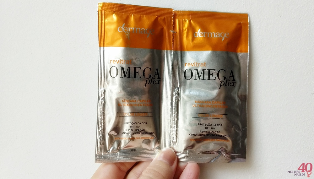 Máscara capilar Omegaplex - Dermage apresentação