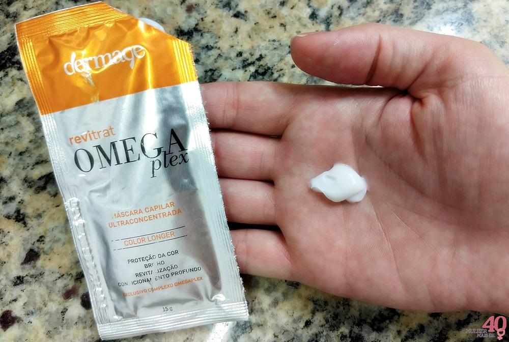 Máscara capilar Omegaplex - Dermage textura do produto
