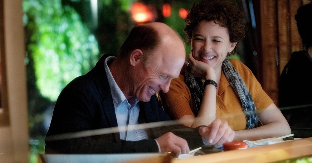 Uma nova chance para amar, o filme Ed Harris e Annette Bening