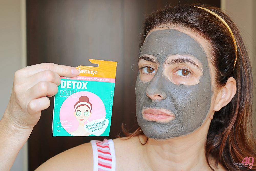 Detox Mask Dermage Embalagem